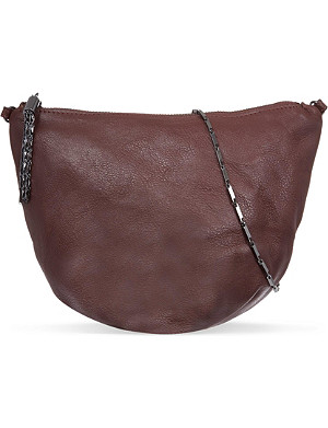 MAJE Small Cowhide shoulder bag
