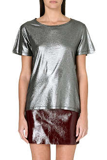 MAJE Metallic t-shirt
