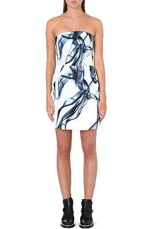 MAJE Printed bandeau dress