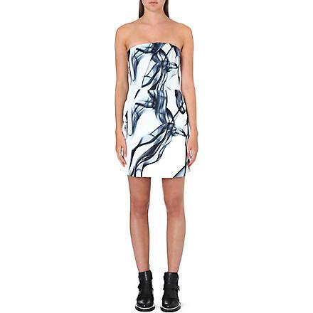 MAJE Printed bandeau dress (Imprime