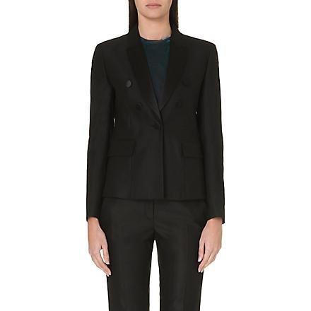 MAJE Button blazer (Black