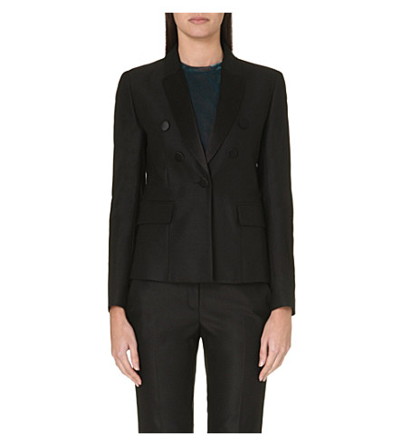 MAJE Button blazer (Black