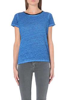 MAJE Linen t-shirt