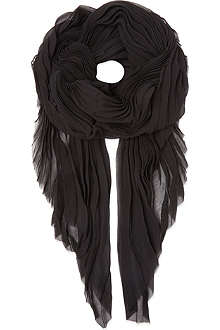 MAJE Pleated scarf
