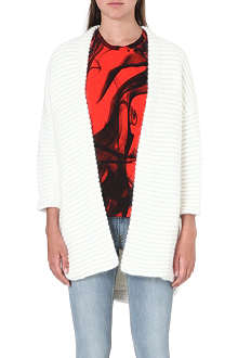 MAJE Oversized textured cardigan