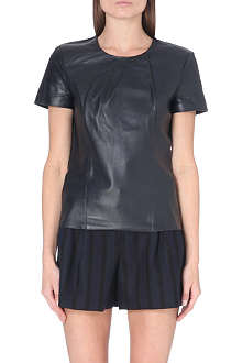 MAJE Leather top