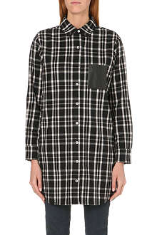 MAJE Flannel shirt dress
