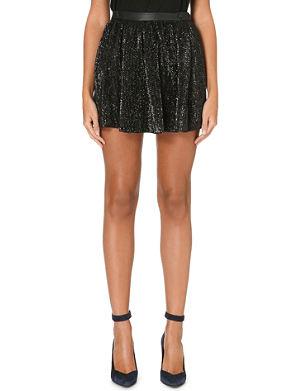 MAJE Guapa sequinned mini skirt