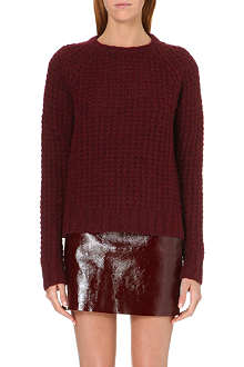 MAJE Karoline ribbed jumper