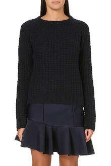 MAJE Karoline knitted jumper
