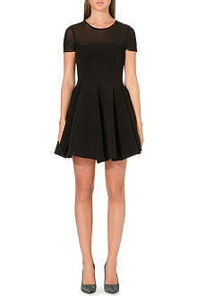MAJE Fit-and-flare neoprene dress