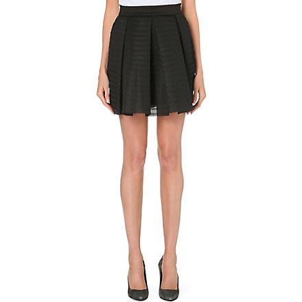MAJE Neoprene skirt (Black