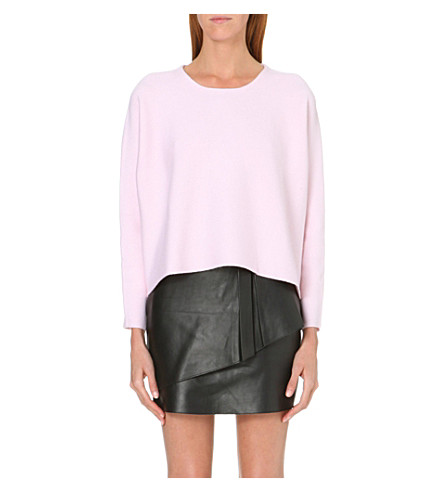 MAJE Kourtise wool jumper (Rose