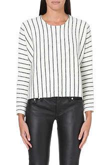 MAJE Kroisette knitted jumper