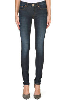 MAJE Slim-fit stretch-denim jeans