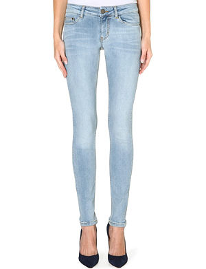 MAJE Slim-fit basic cotton jeans