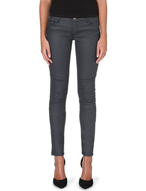 MAJE Samir skinny mid-rise jeans