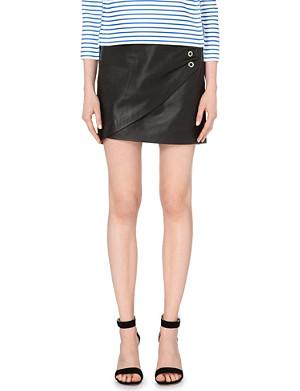MAJE Jones leather skirt