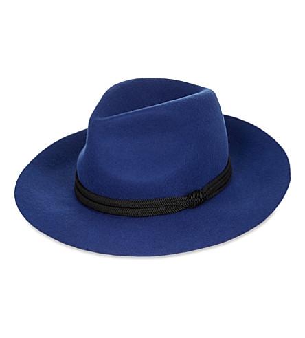 MAJE Edson wool hat (Bleu
