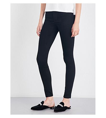 MAJE Agripine skinny high-rise jeans (Black+210