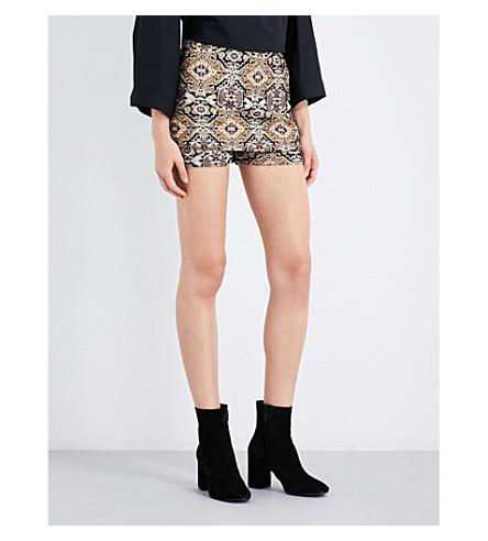 MAJE Ilio jacquard skirted shorts (Jacquard
