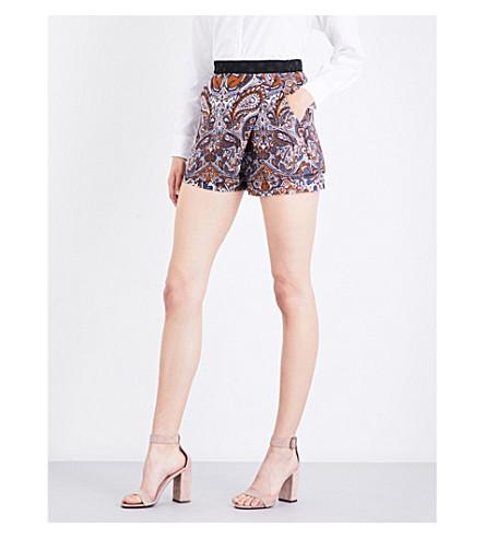 MAJE Imane jacquard shorts (Jacquard