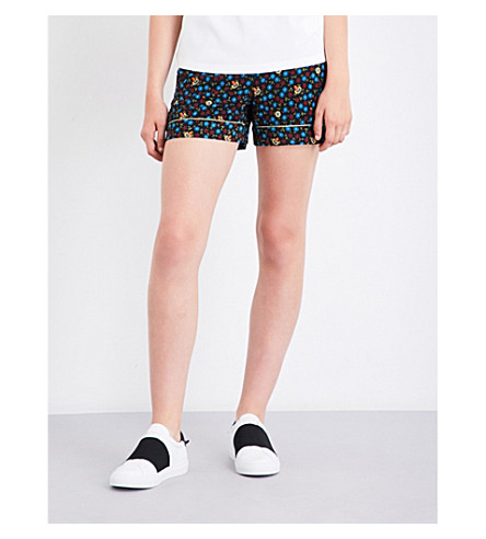 MAJE Ivani woven shorts (Printed