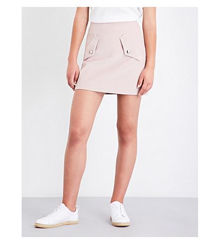 MAJE Jinelle corduroy skirt (Pink