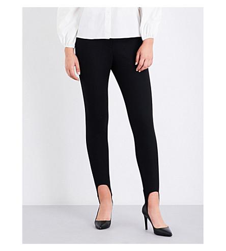 MAJE Pado gabardine trousers (Black+210