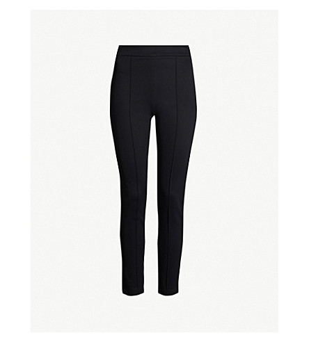MAJE Primo skinny stretch-jersey trousers (Black+210