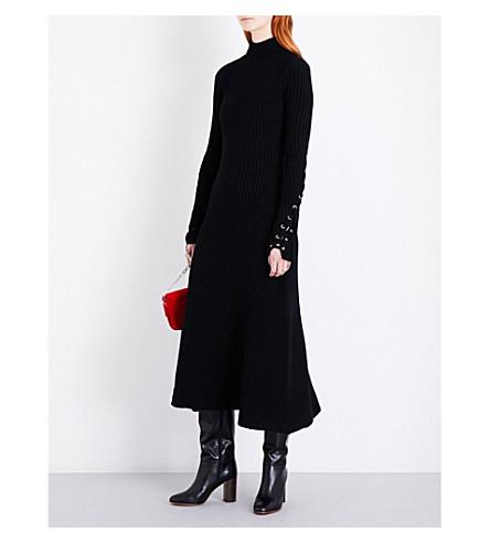 MAJE Rafaela 针织连衣裙 (Black+210