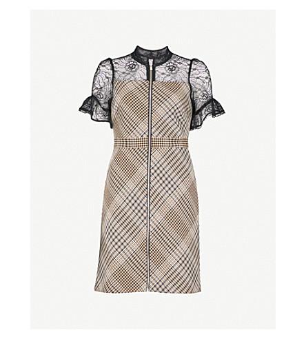 MAJE Rhodin woven dress (Jacquard