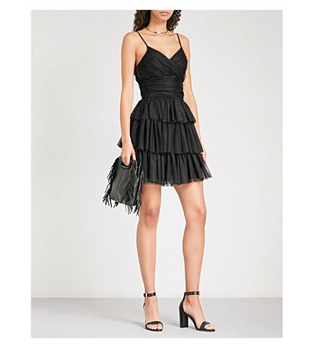 MAJE Richard jersey dress (Black