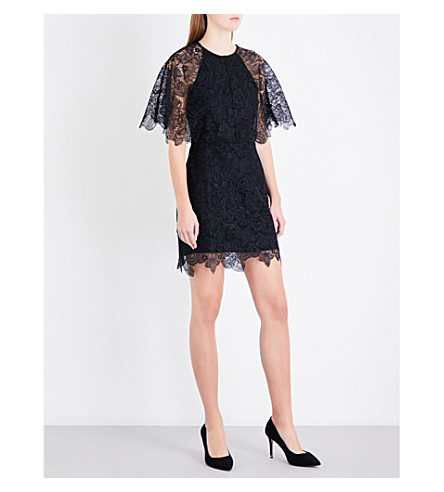 MAJE Rocandi lace dress (Black