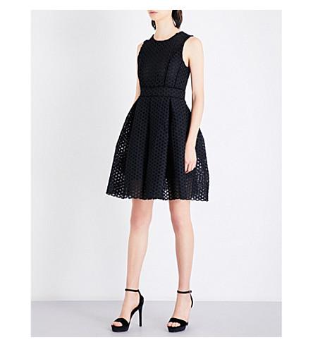 MAJE Rosianne guipure lace dress (Black+210