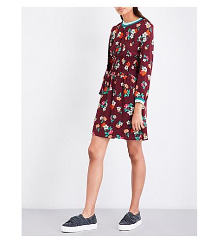 MAJE Floral-print dress (Print