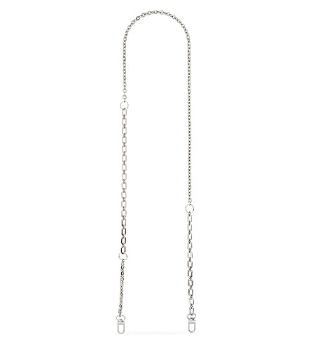 MAJE Chain bag strap (Silver