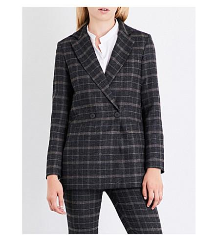 MAJE Vasili wool-blend jacket (Jacquard