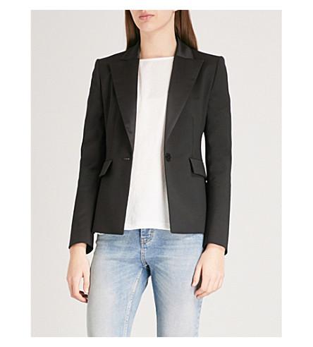 MAJE Viesta woven jacket (Black