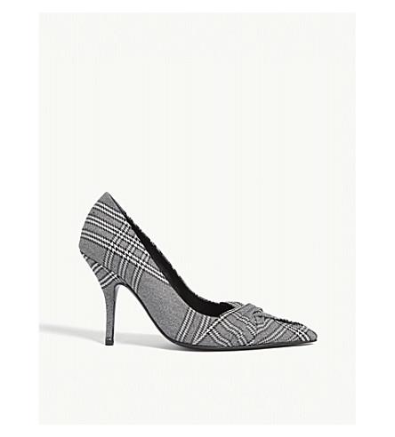 MAJE Check heeled courts