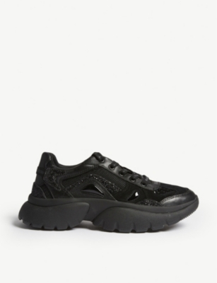 Faster leather trainers(7268696)