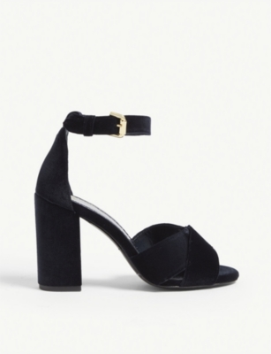 Forigami velvet sandals(8123948)