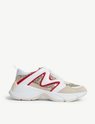 W22 mesh and leather trainers(8118074)