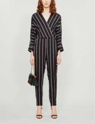 Pandomi striped woven jumpsuit
