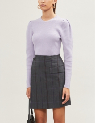Mobil relaxed-fit wool-blend jumper