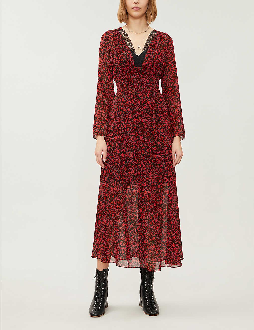 Ravila floral-print crepe maxi dress(8308380)