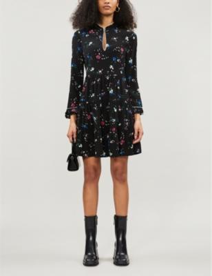 Rilita crepe mini dress