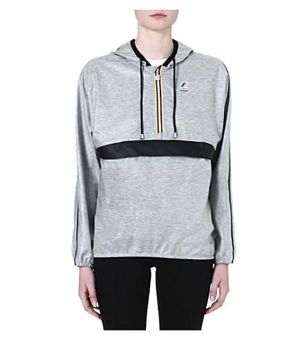 MAJE Noel waterproof hoodie (Grey