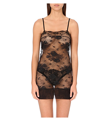 LA PERLA Maharani lace dress (Black
