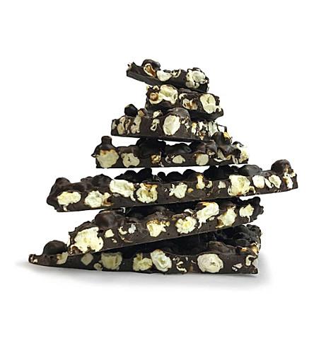 MELT Dark Chocolate caramelised popcorn slab 200g